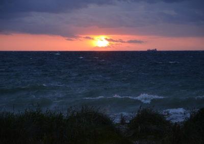 Sonnenuntergang im Inselwesten