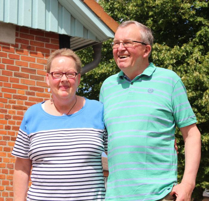 Gastgeber Susanne und Gottfried Lange